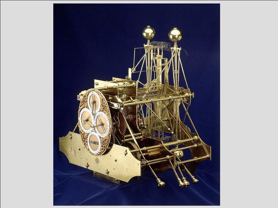La imagen es el reloj h1, el primero construido por john harrison