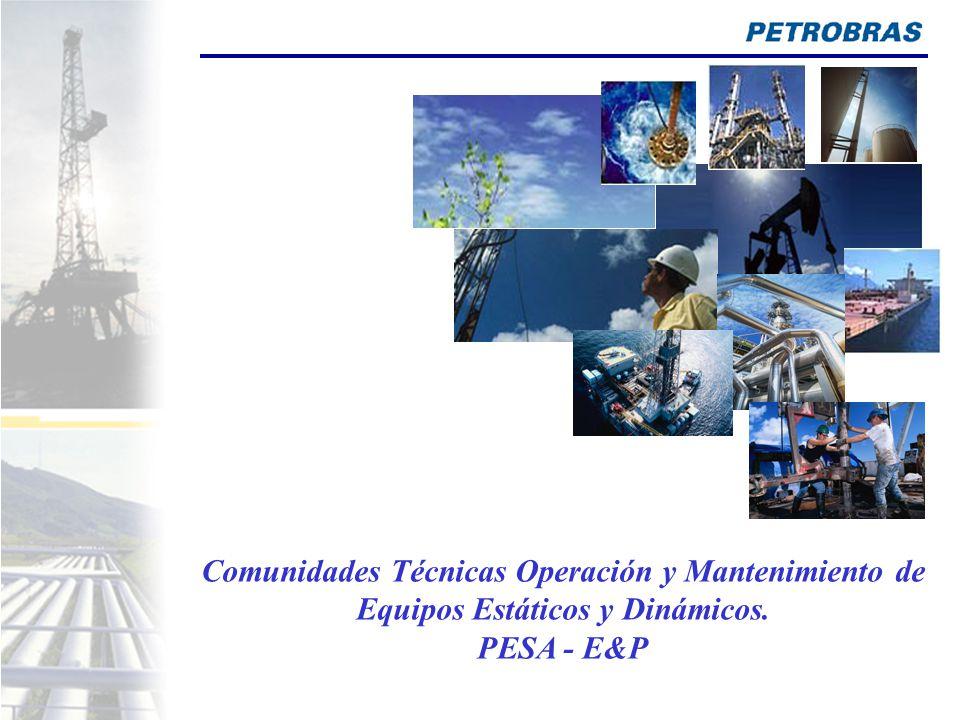 Comunidades Técnicas Operación y Mantenimiento de Equipos Estáticos y Dinámicos.