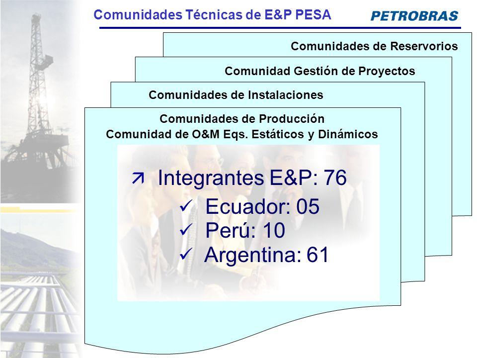Comunidades Técnicas de E&P PESA