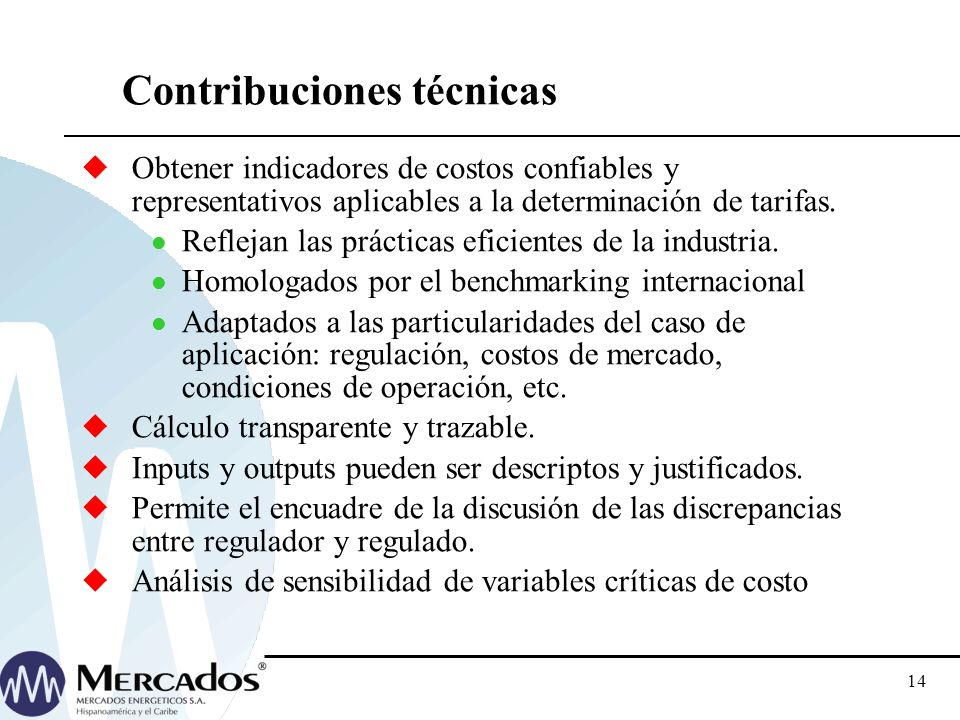 Contribuciones técnicas