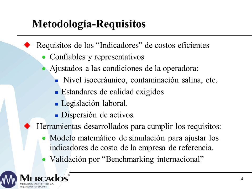 Metodología-Requisitos