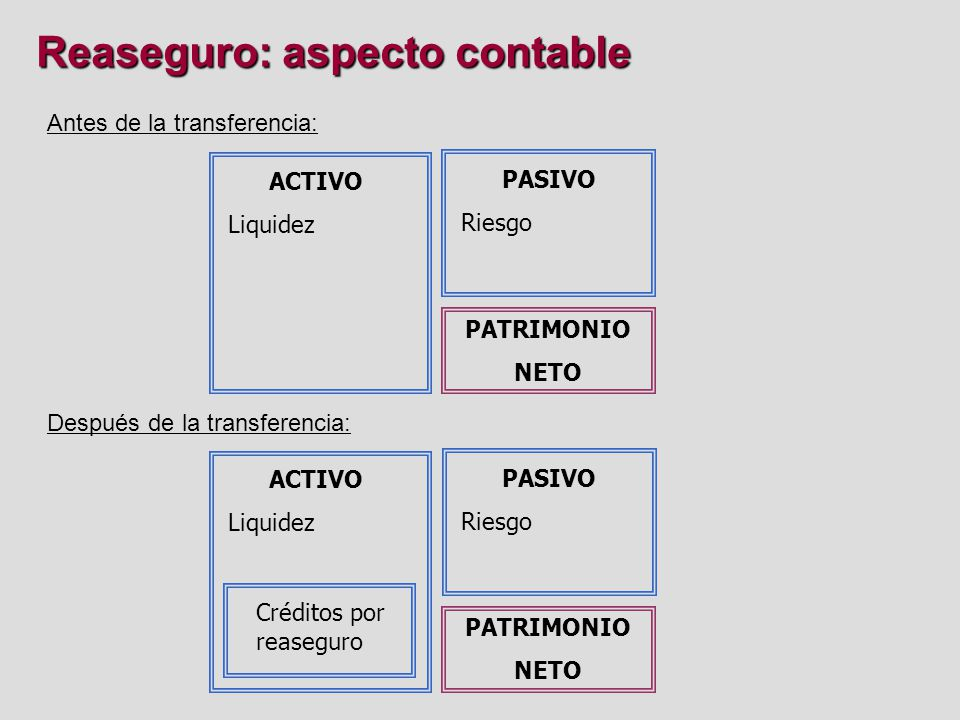 Reaseguro: aspecto contable