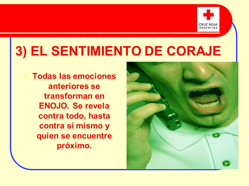 3) EL SENTIMIENTO DE CORAJE