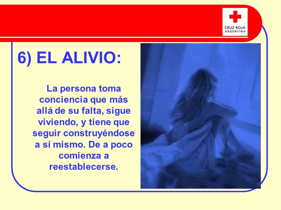 6) EL ALIVIO: