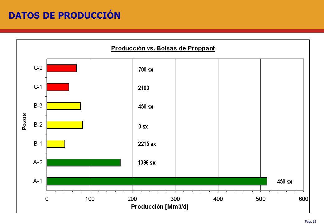 DATOS DE PRODUCCIÓN .