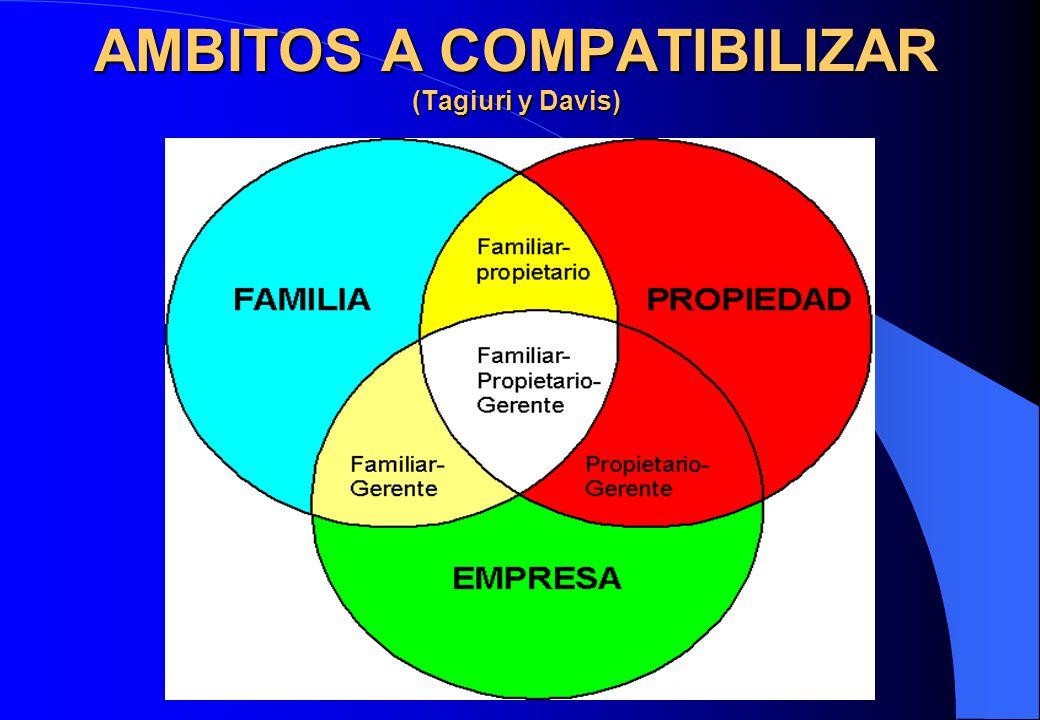 AMBITOS A COMPATIBILIZAR (Tagiuri y Davis)