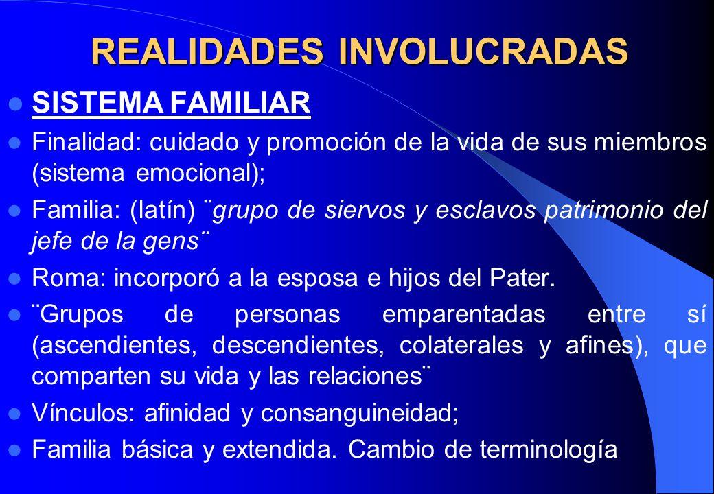 REALIDADES INVOLUCRADAS