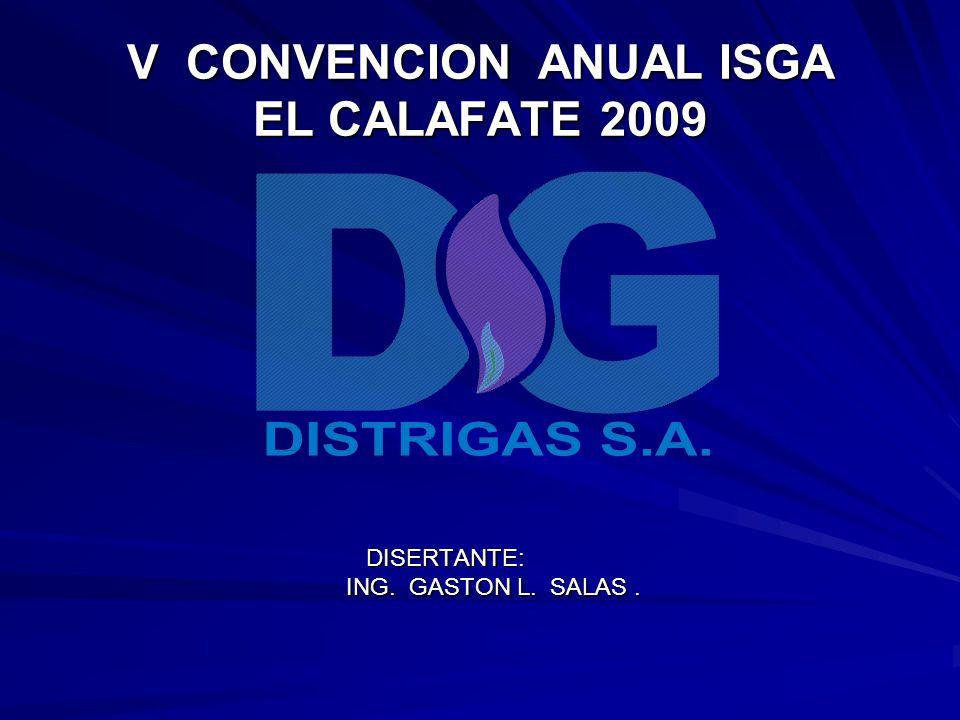 V CONVENCION ANUAL ISGA EL CALAFATE 2009