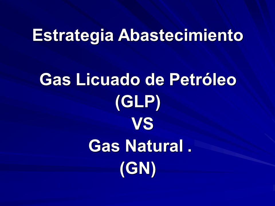 Estrategia Abastecimiento Gas Licuado de Petróleo