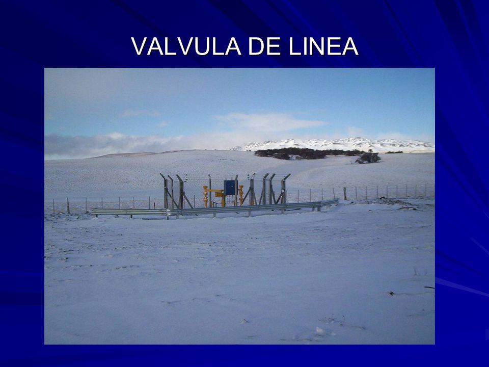 VALVULA DE LINEA