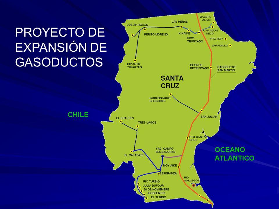 PROYECTO DE EXPANSIÓN DE GASODUCTOS