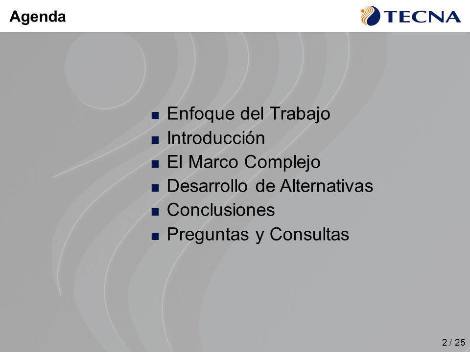 Desarrollo de Alternativas Conclusiones Preguntas y Consultas
