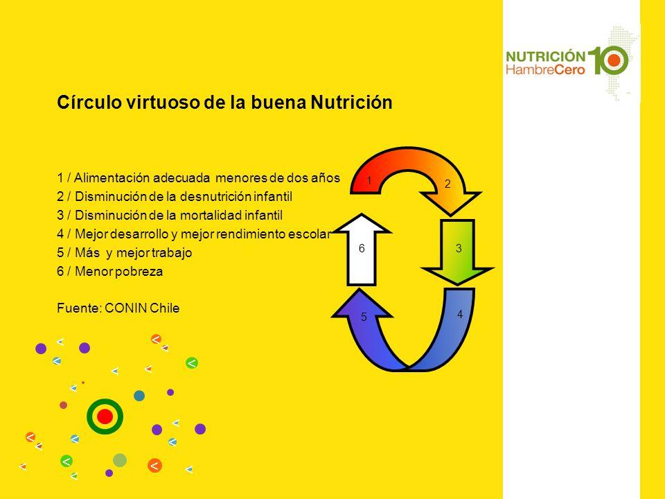 Círculo virtuoso de la buena Nutrición