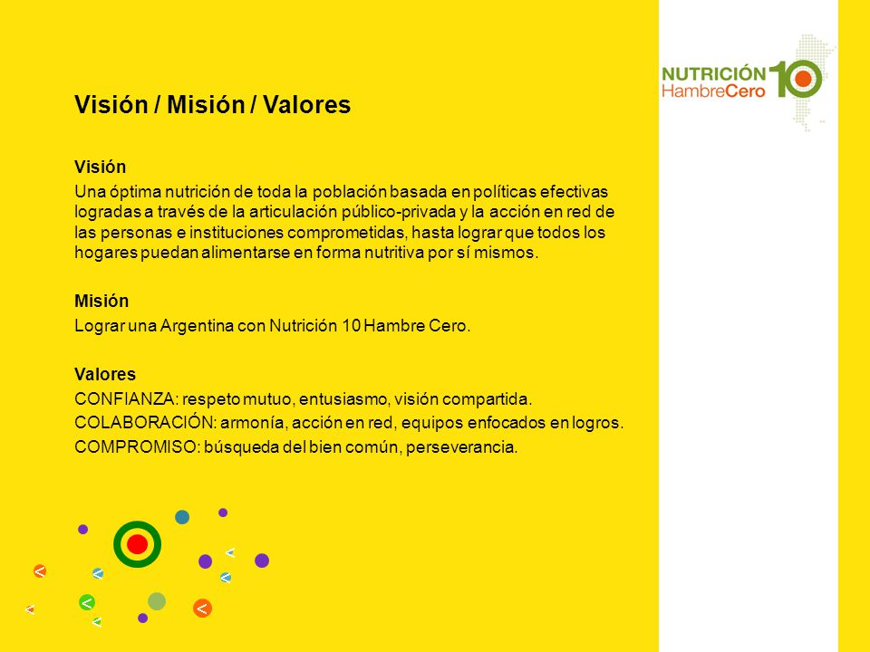 Visión / Misión / Valores