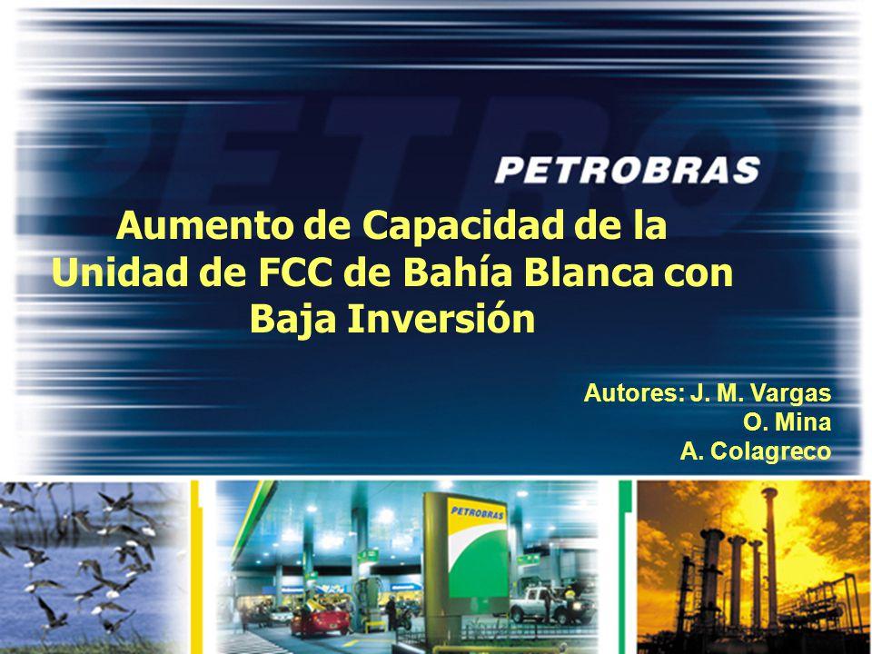Aumento de Capacidad de la Unidad de FCC de Bahía Blanca con Baja Inversión