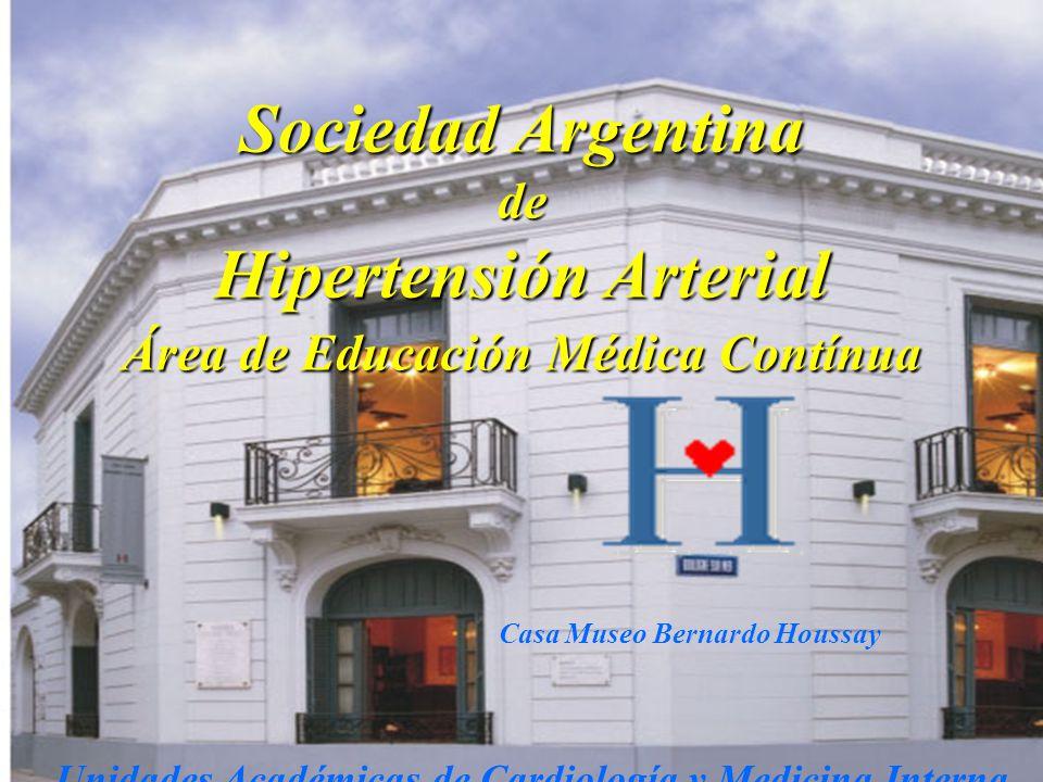 Sociedad Argentina Hipertensión Arterial