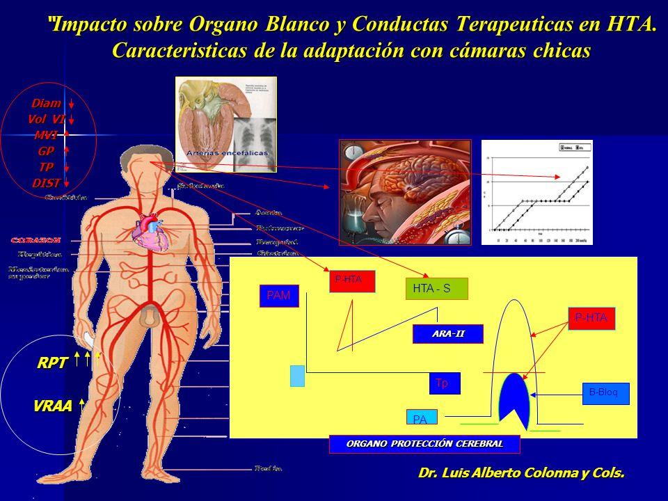 ORGANO PROTECCIÓN CEREBRAL Dr. Luis Alberto Colonna y Cols.
