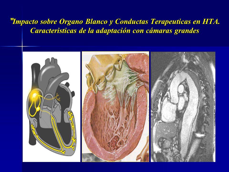 Impacto sobre Organo Blanco y Conductas Terapeuticas en HTA