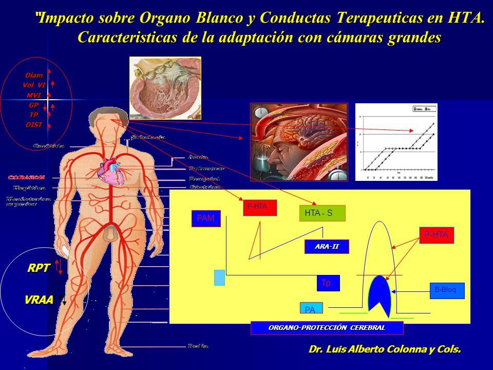 ORGANO-PROTECCIÓN CEREBRAL Dr. Luis Alberto Colonna y Cols.