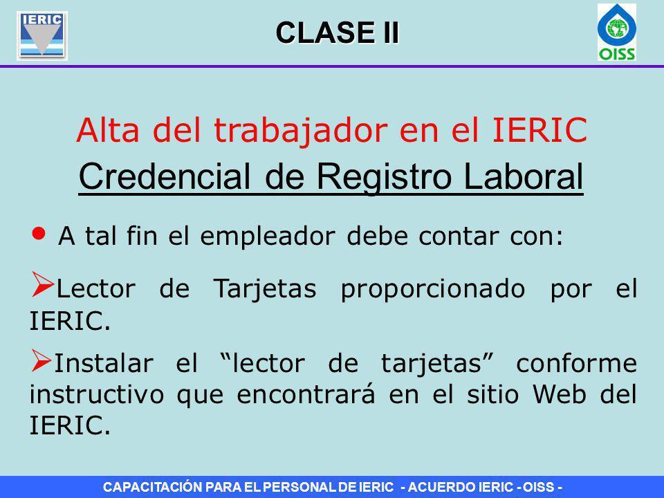 Credencial de Registro Laboral