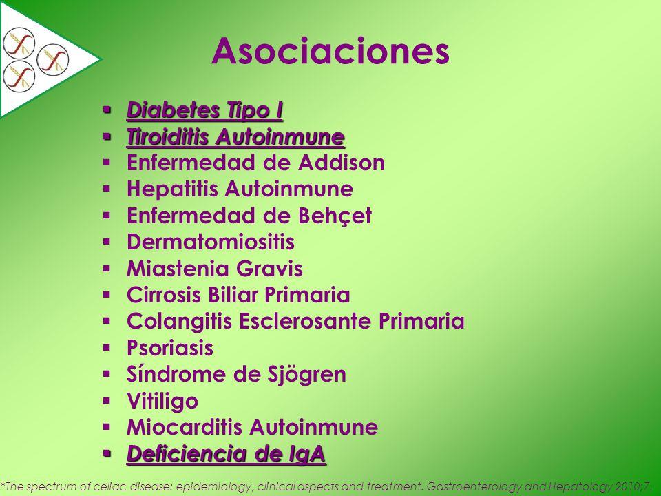 Asociaciones Diabetes Tipo I Tiroiditis Autoinmune