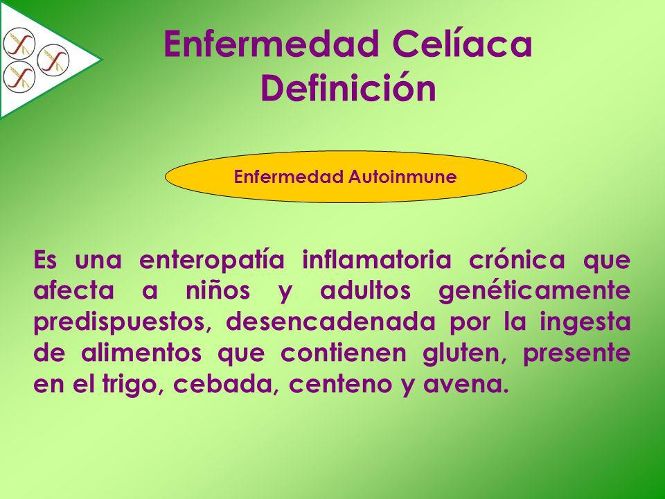 Enfermedad Celíaca Definición Enfermedad Autoinmune