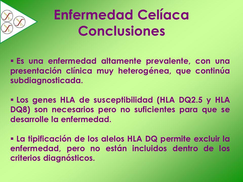 Enfermedad Celíaca Conclusiones