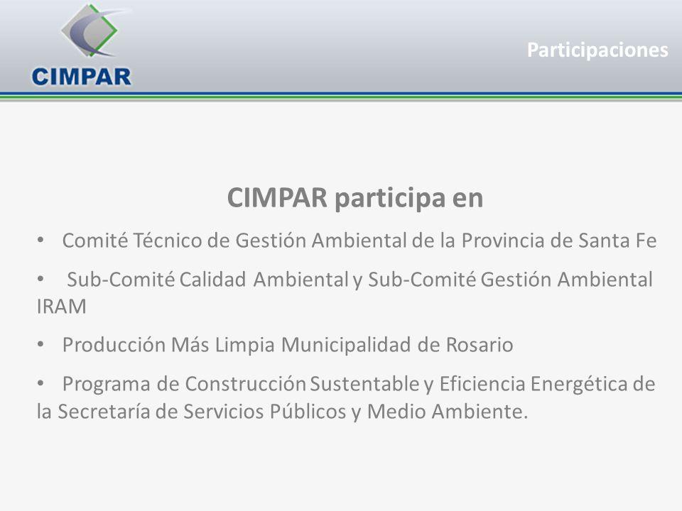 CIMPAR participa en Participaciones
