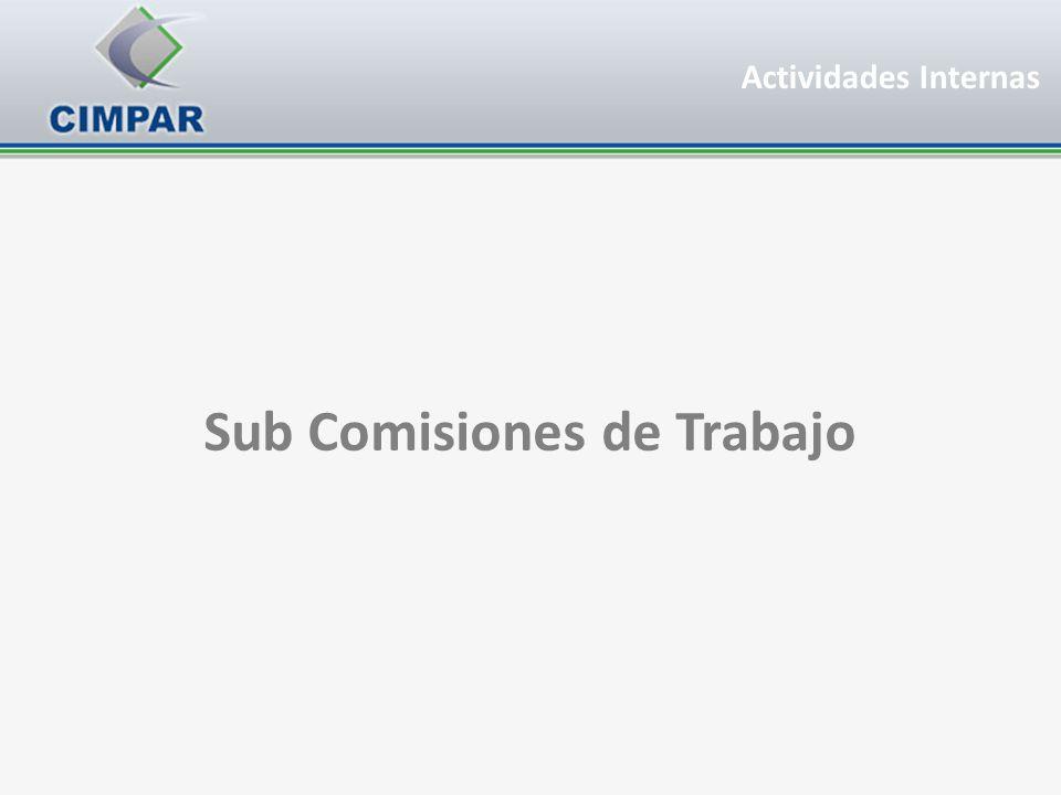 Sub Comisiones de Trabajo