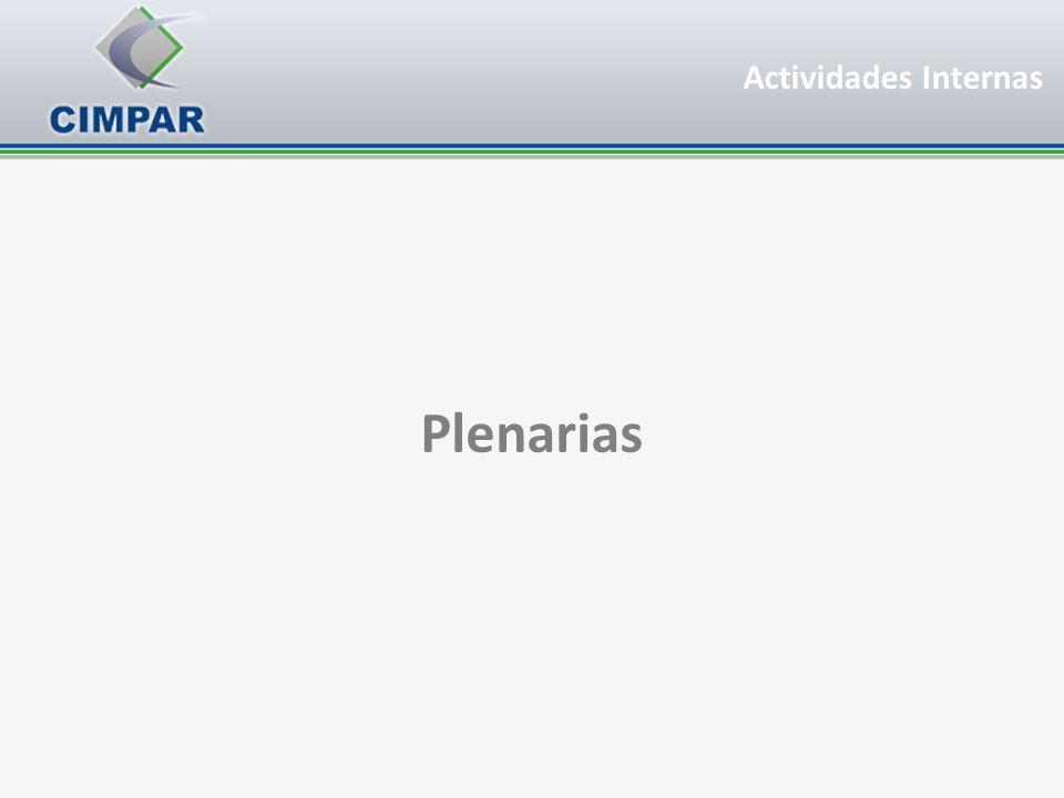 Actividades Internas Plenarias