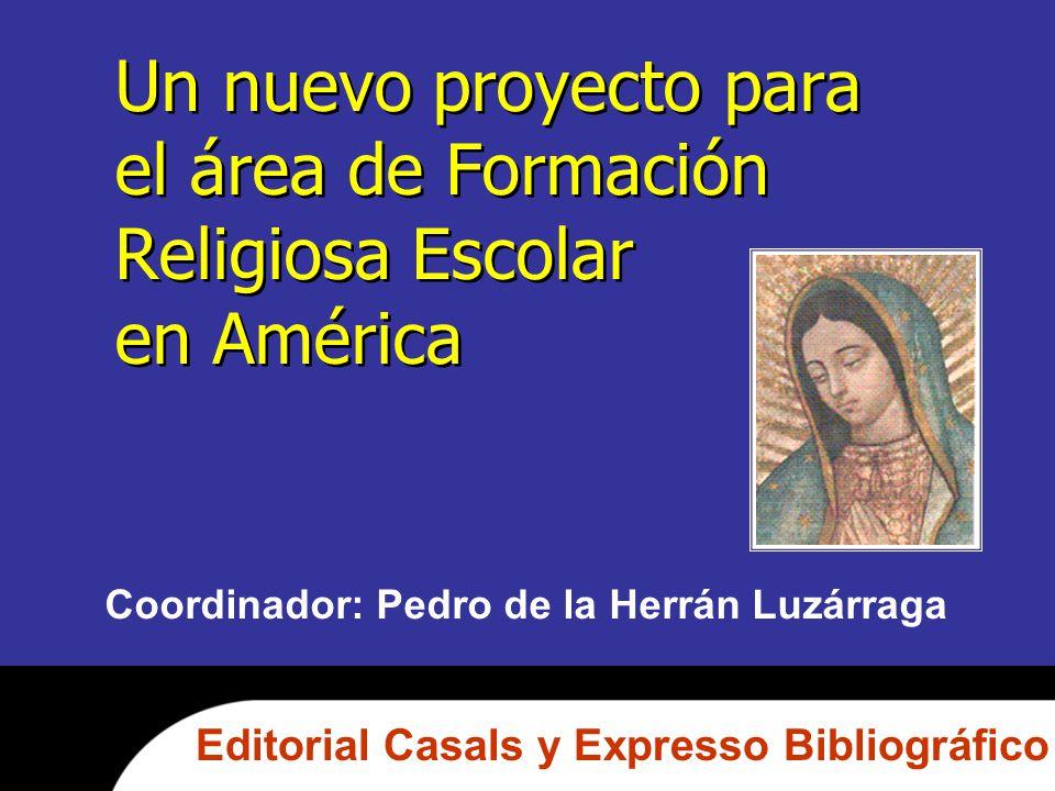Un nuevo proyecto para el área de Formación Religiosa Escolar en América