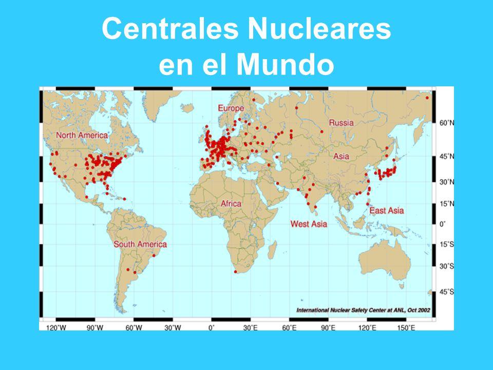 Centrales Nucleares en el Mundo
