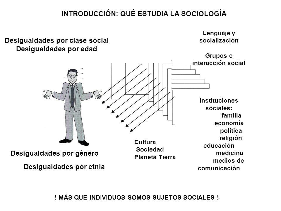 Desigualdades por clase social Desigualdades por edad