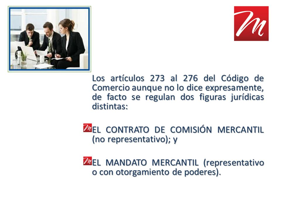 Los artículos 273 al 276 del Código de Comercio aunque no lo dice expresamente, de facto se regulan dos figuras jurídicas distintas: