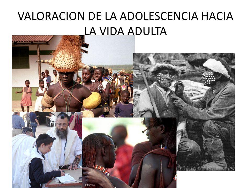 VALORACION DE LA ADOLESCENCIA HACIA LA VIDA ADULTA