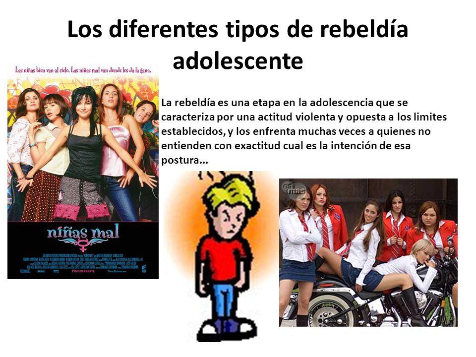Los diferentes tipos de rebeldía adolescente
