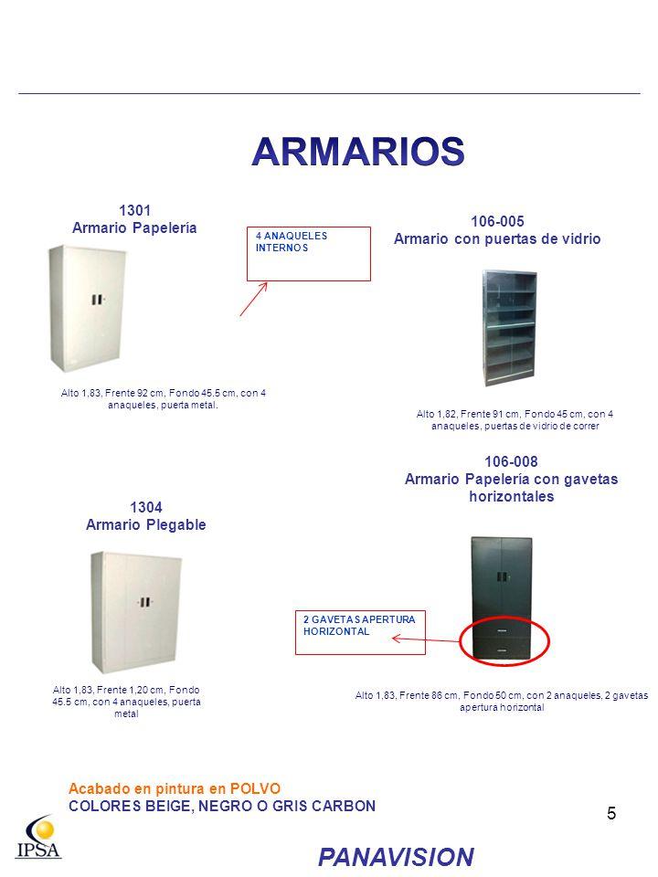 ARMARIOS PANAVISION 1301 106-005 Armario Papelería