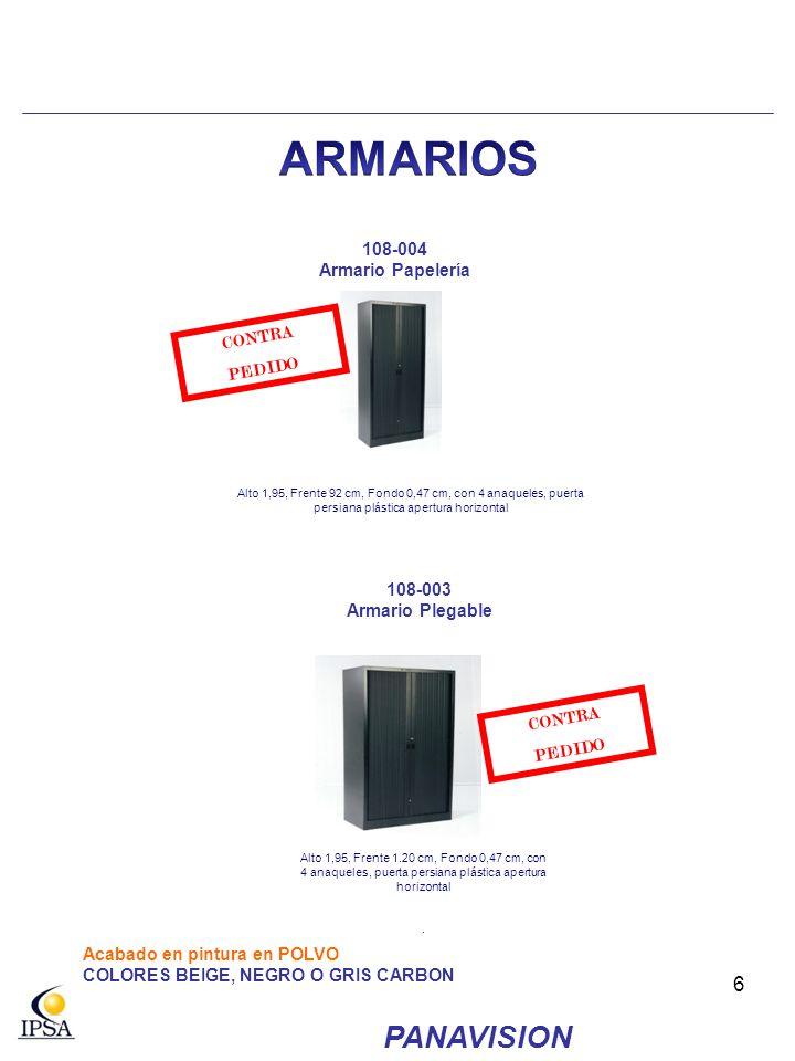 ARMARIOS PANAVISION 108-004 Armario Papelería CONTRA PEDIDO 108-003