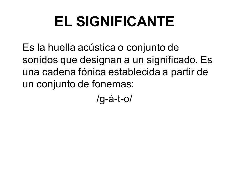 EL SIGNIFICANTE