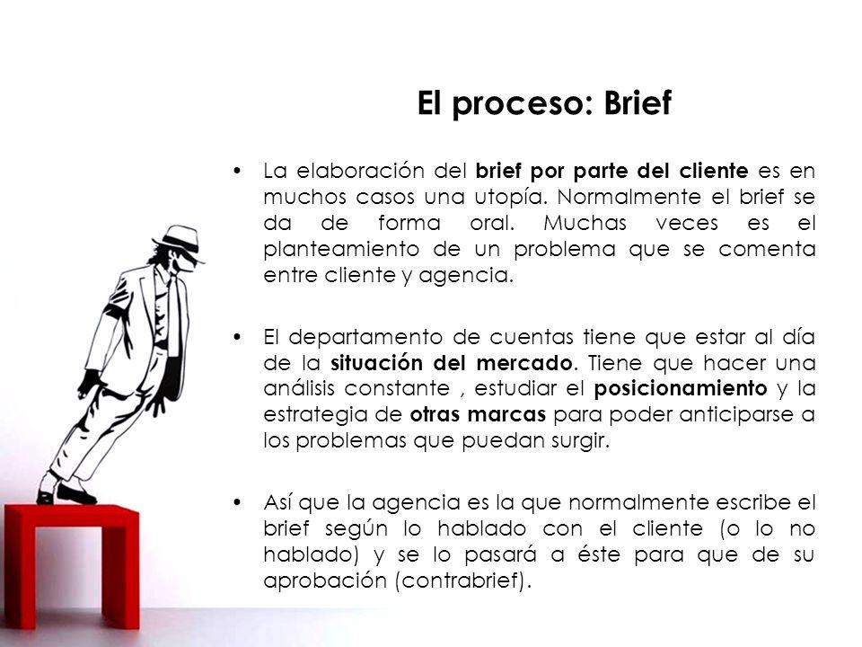 El proceso: Brief