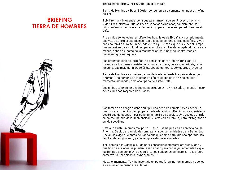 BRIEFING TIERRA DE HOMBRES