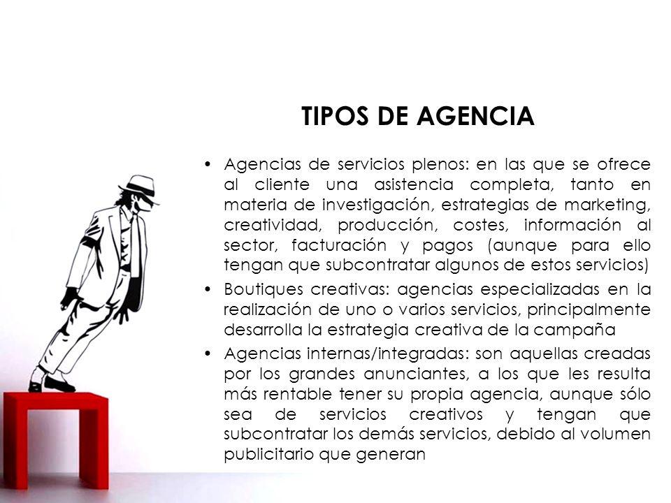 TIPOS DE AGENCIA