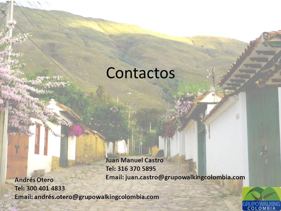 Contactos Juan Manuel Castro Tel: 316 370 5895