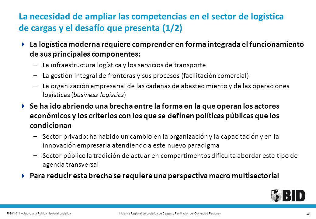 La necesidad de ampliar las competencias en el sector de logística de cargas y el desafío que presenta (1/2)