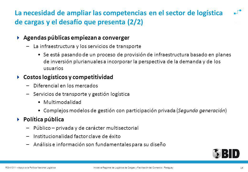 La necesidad de ampliar las competencias en el sector de logística de cargas y el desafío que presenta (2/2)