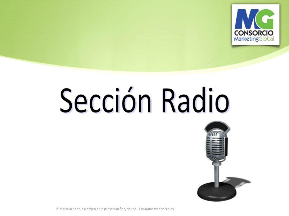 Sección Radio