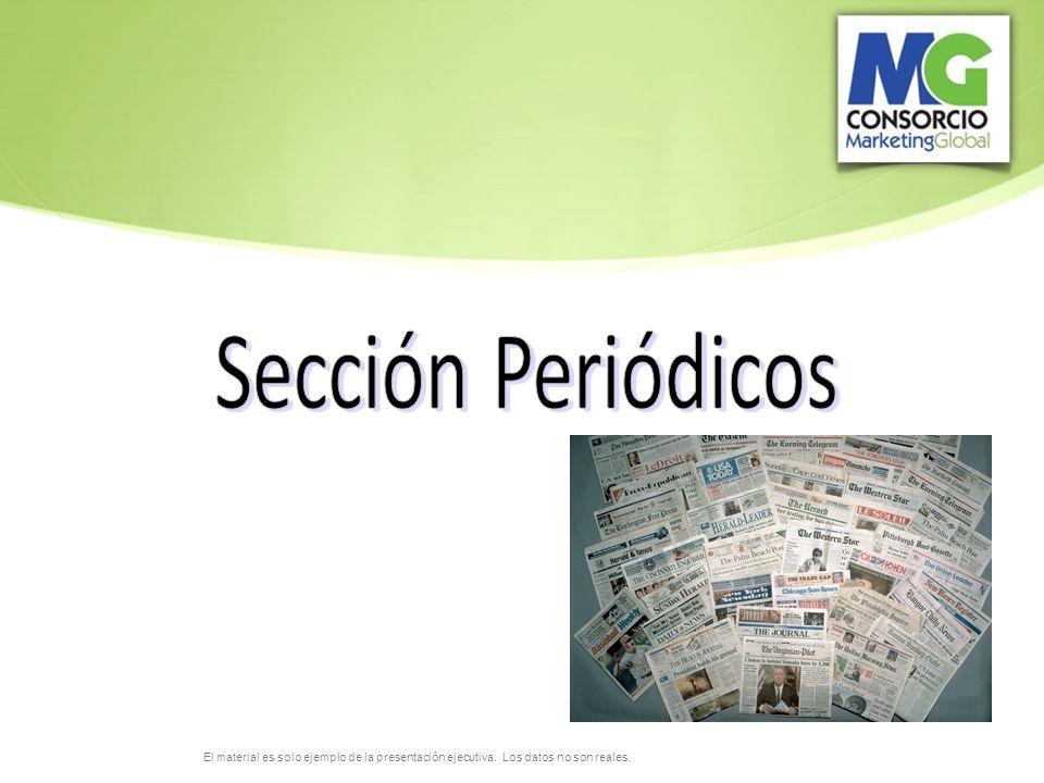 Sección Periódicos