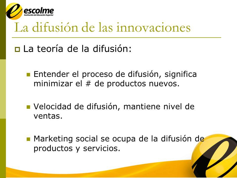 La difusión de las innovaciones
