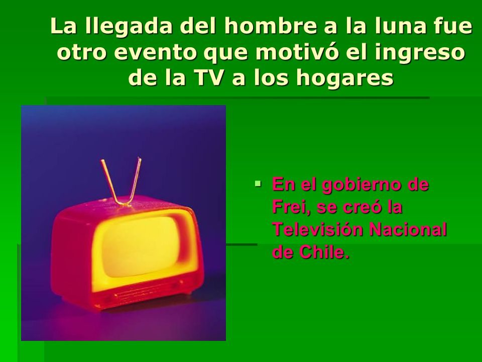 La llegada del hombre a la luna fue otro evento que motivó el ingreso de la TV a los hogares