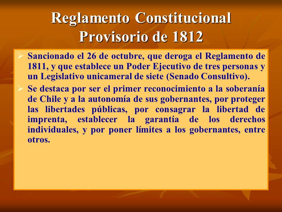 Reglamento Constitucional Provisorio de 1812